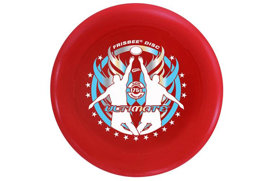 red frisbee