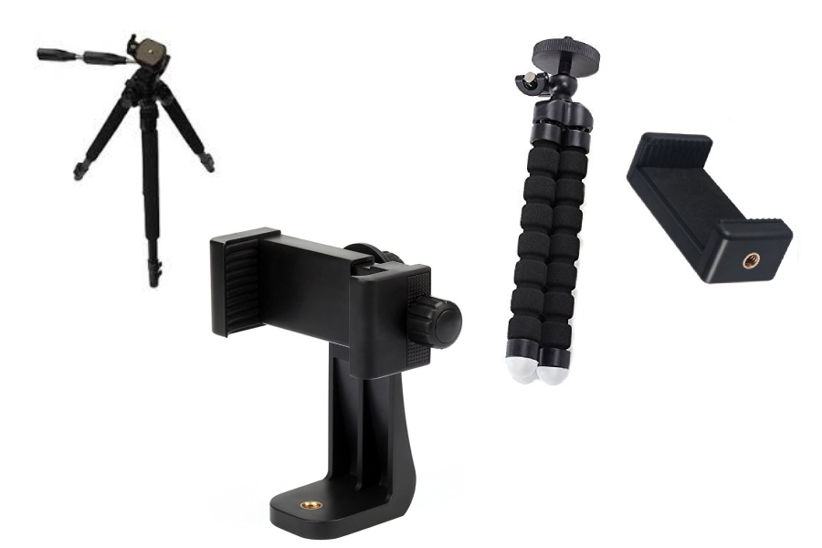 tripods and adapters